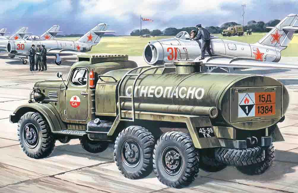 ICM ZiL-157, Fuel Truck