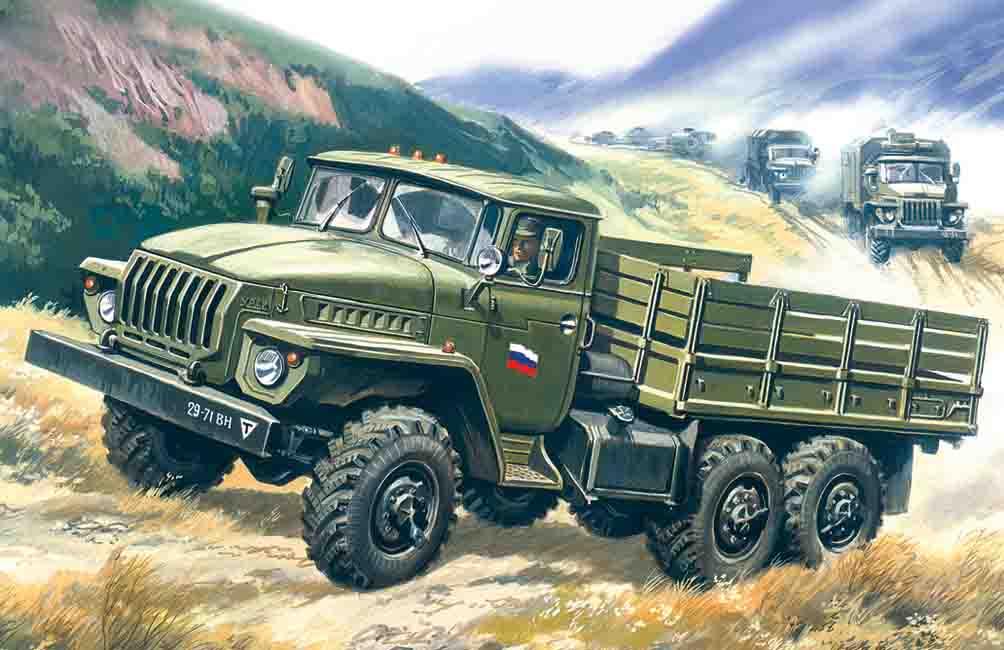ICM URAL-4320, Army Truck