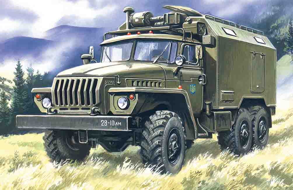 ICM URAL-43203, Command Vehicle