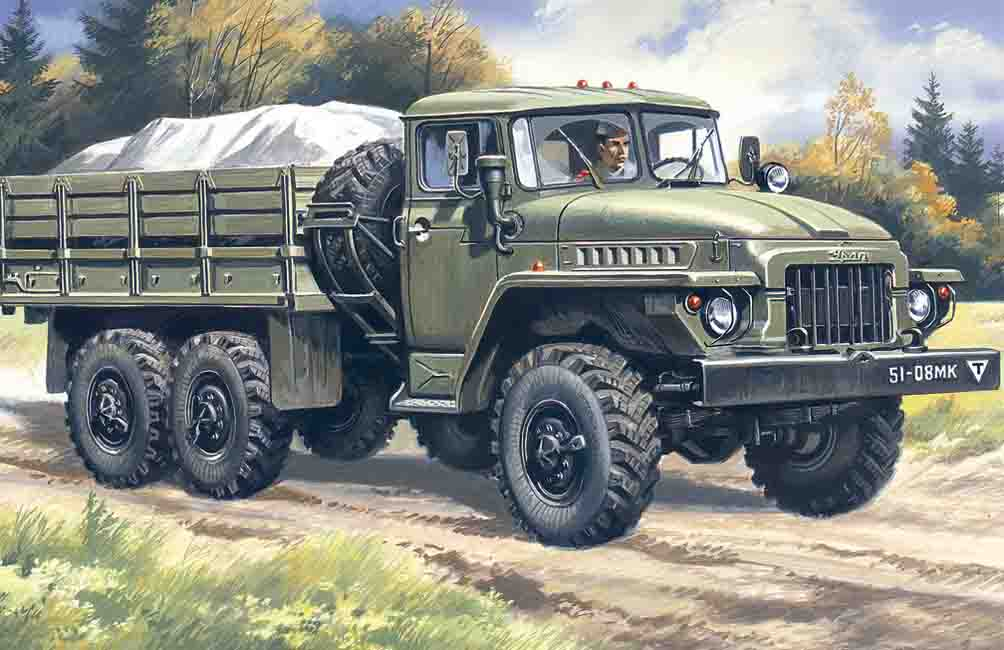ICM URAL-375D, Army Truck