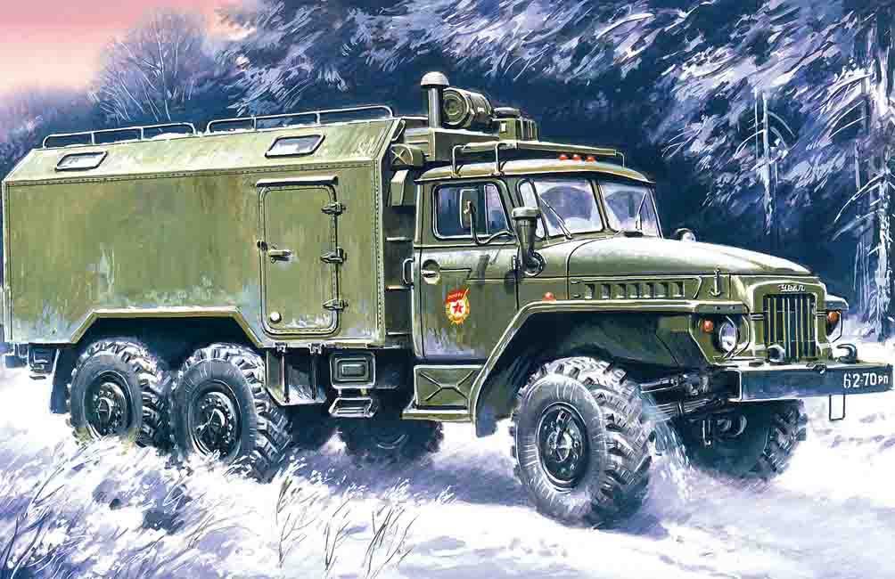 ICM URAL-375A, Command Vehicle