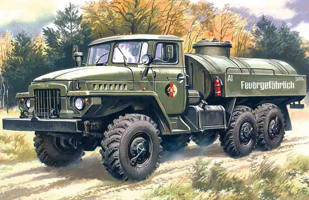 ICM ATZ-5-375, Fuel Bowser