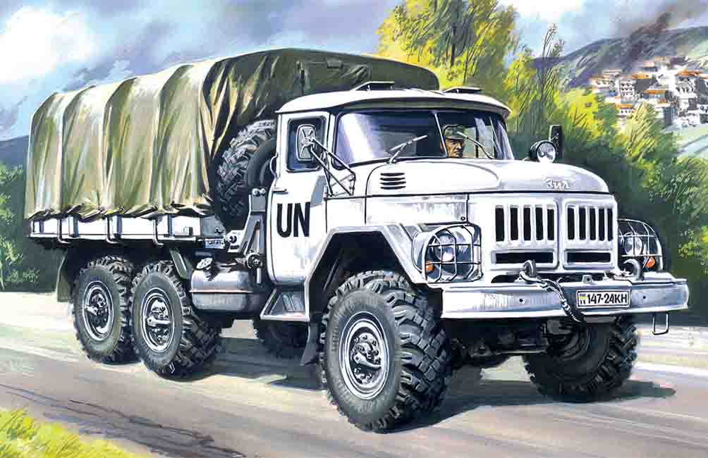 ICM ZiL-131, Army Truck
