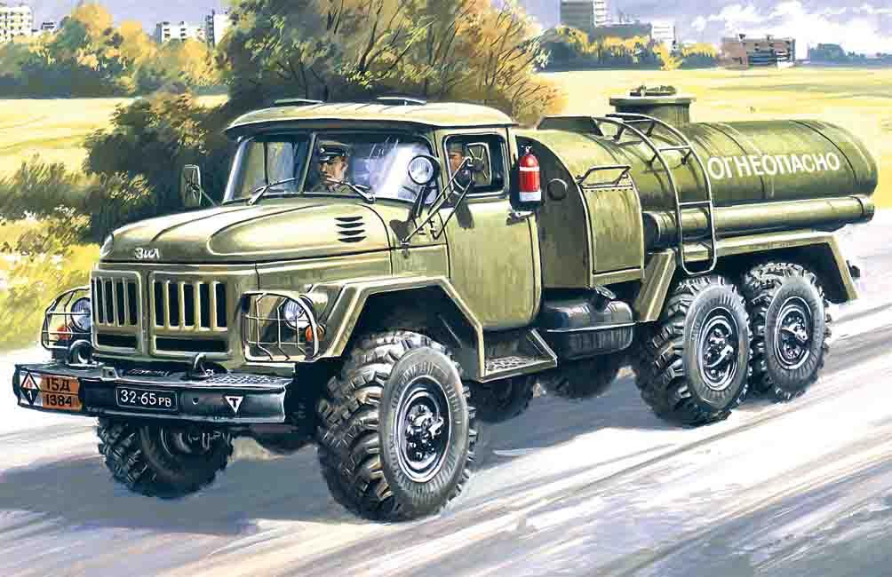 ICM ATZ-4-131, Fuel Bowser