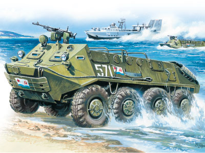 ICM BTR-60P, Armoured Personnel Carrier