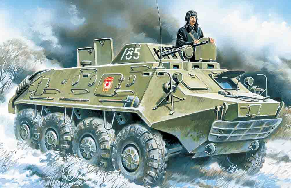 ICM BTR-60PB, Armoured Personnel Carrier