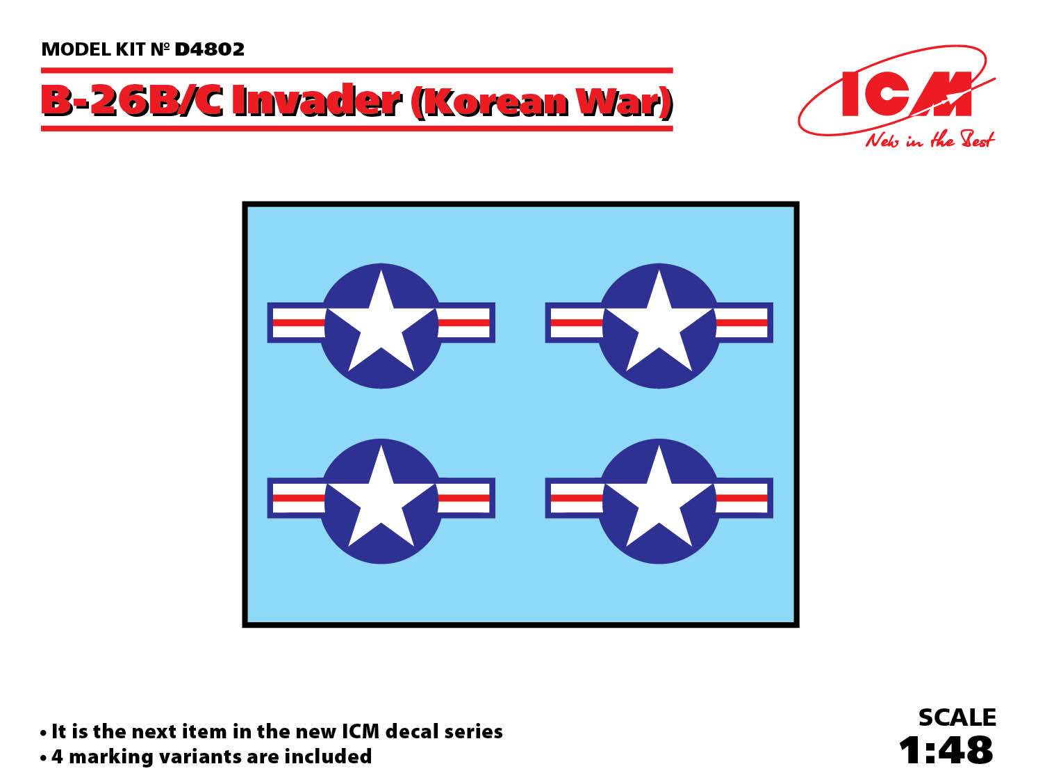 ICM B-26B/C Invader (Korean War)