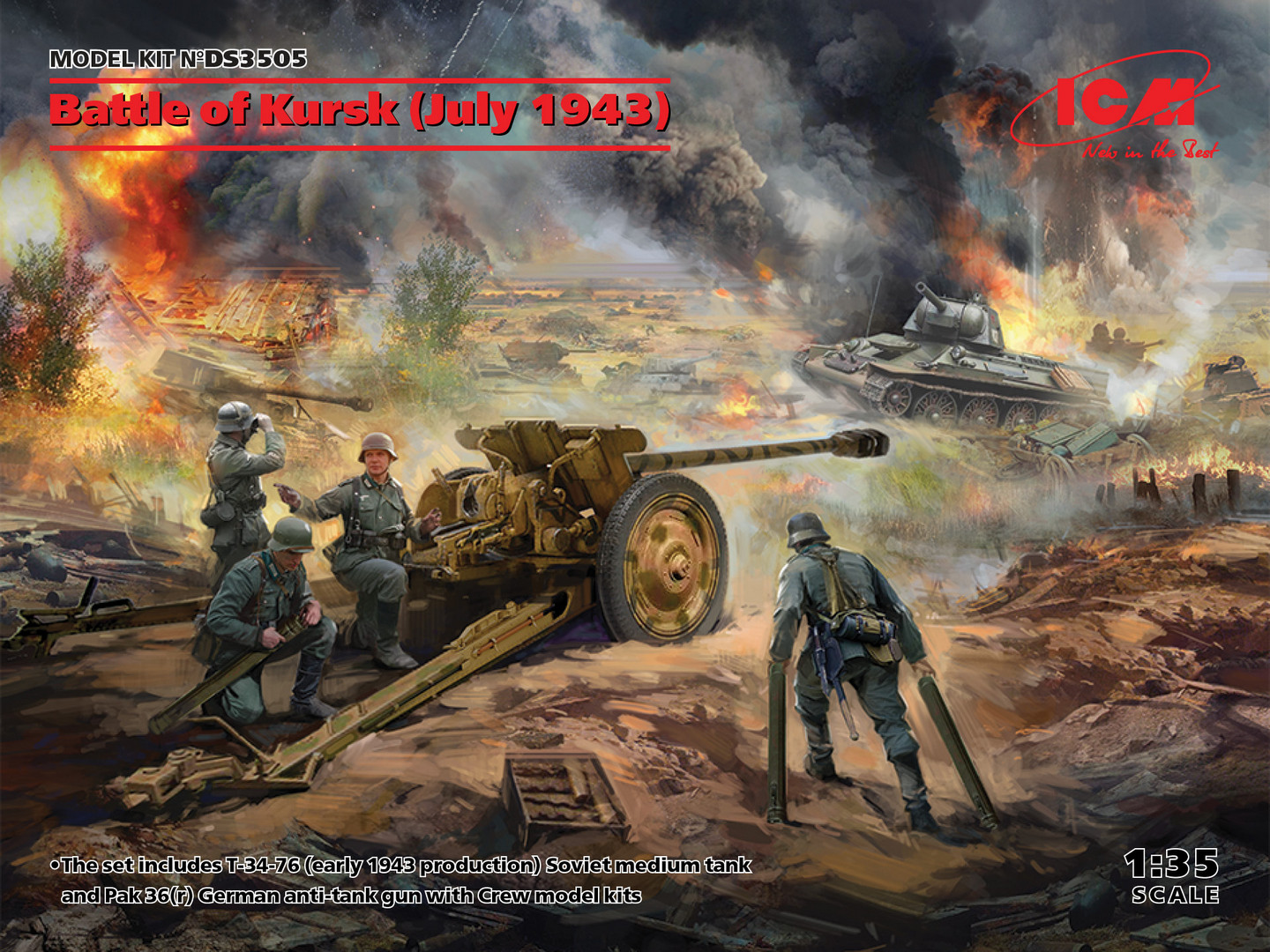 ICM Battle of Kursk (July 1943) 1/35 Scale
