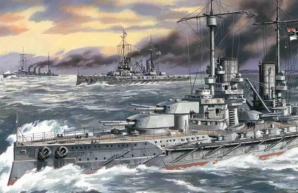 "ICM ""Großer Kurfürst"", WWI German Battleship"