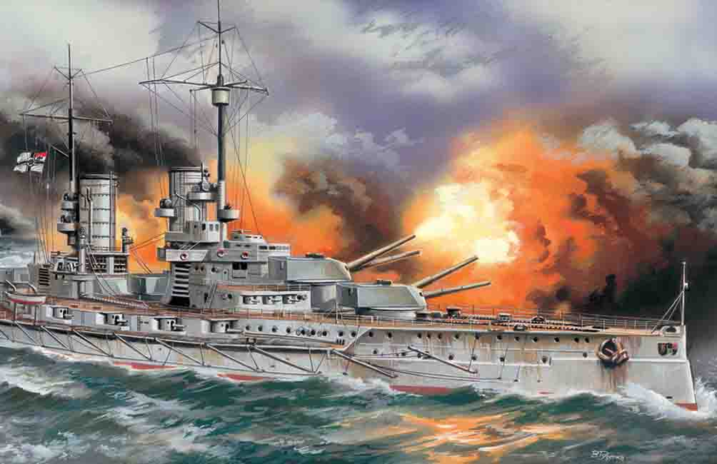 "ICM ""Markgraf"", WWI German Battleship"