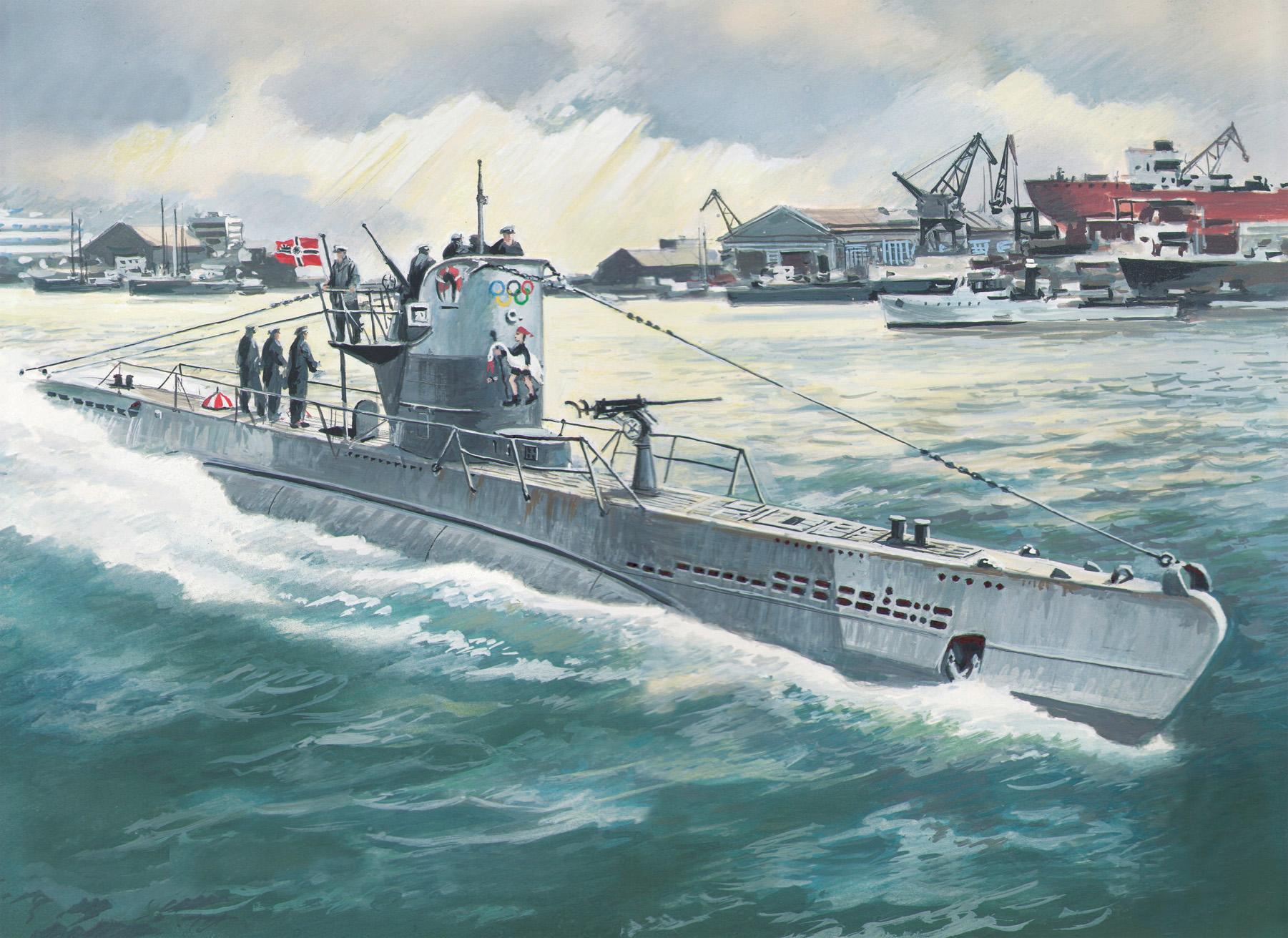 ICM U-Boat Type IIB (1943), German Submarine
