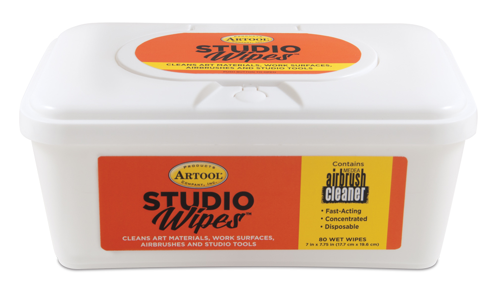 IWATA STUDIO WIPES 80CT TUB