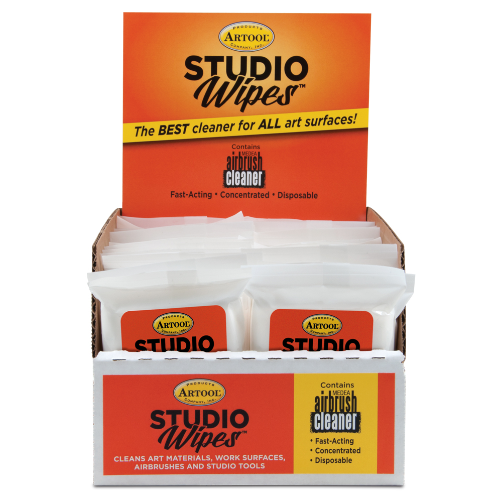 IWATA 24 count Studio Wipe POP 12 count Pouch