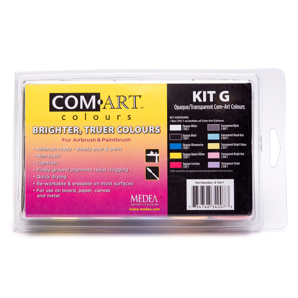 IWATA Com Art Colours Opaque/Transparent Kit G