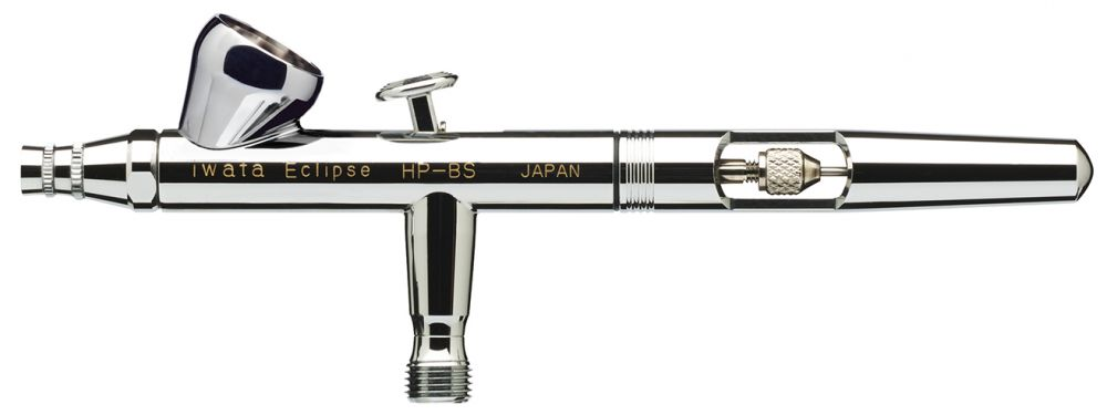 IWATA Eclipse HP-BS Gravity Feed Dual Action Airbrush