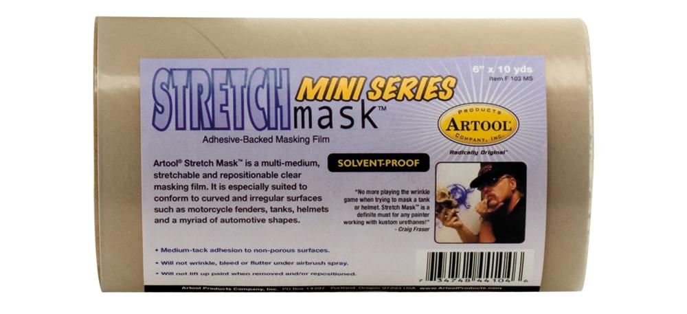 IWATA Artool Stretch Mask Mini Series, 6inx10yds Roll