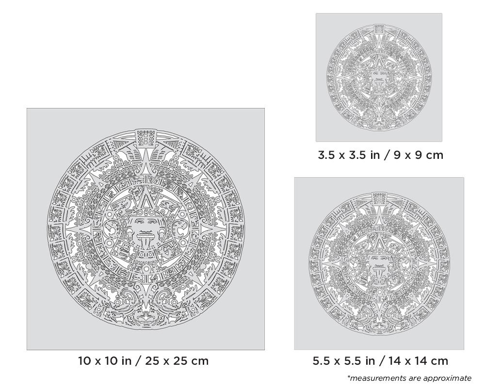 IWATA Artool Aztek FX Set Freehand Airbrush Template by Gerald Mendez