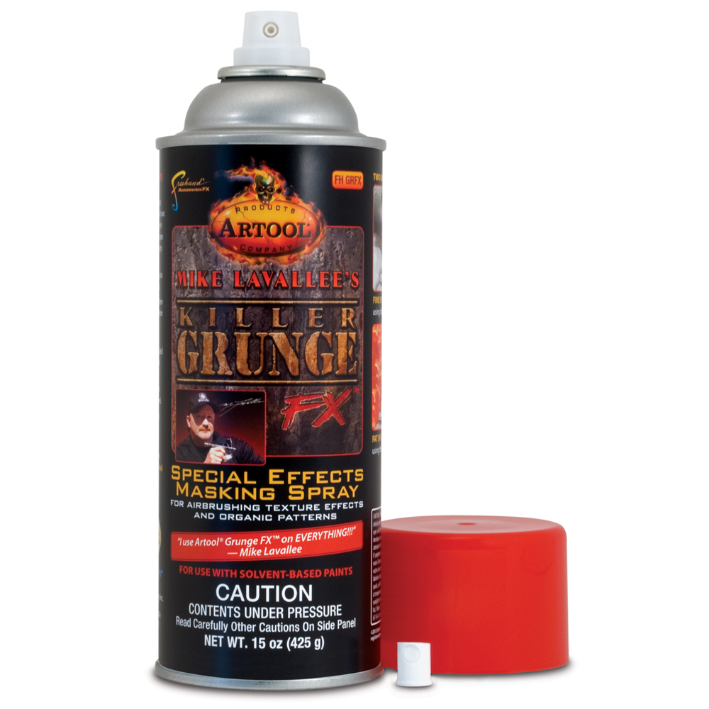 IWATA Mike Lavallee Killer Grunge FX - Special Effects Masking Spray by Artool