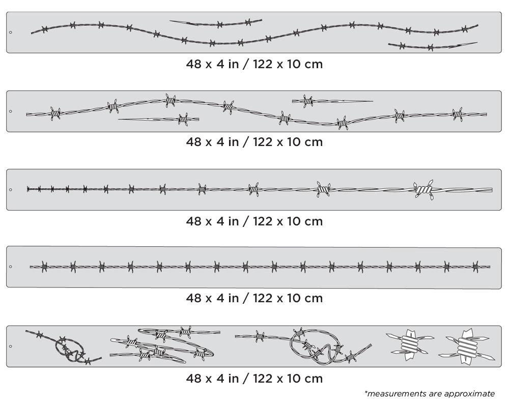 IWATA Artool Wired Freehand Airbrush Template by Dean Loucks