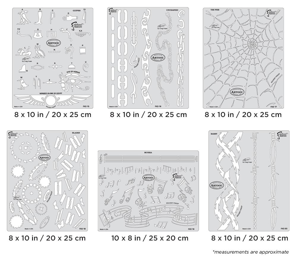 IWATA Artool FX3 Freehand Airbrush Set by Craig Fraser