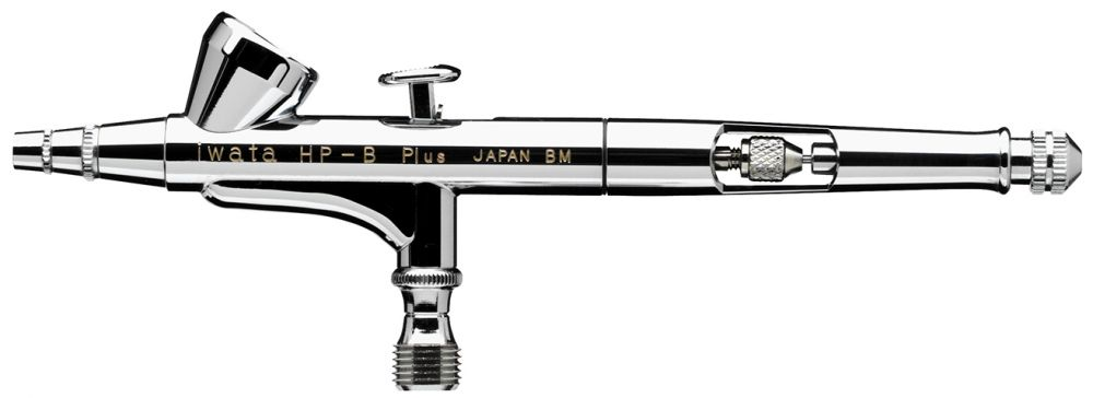 IWATA High Performance HP-B Plus Gravity Feed Dual Action Airbrush