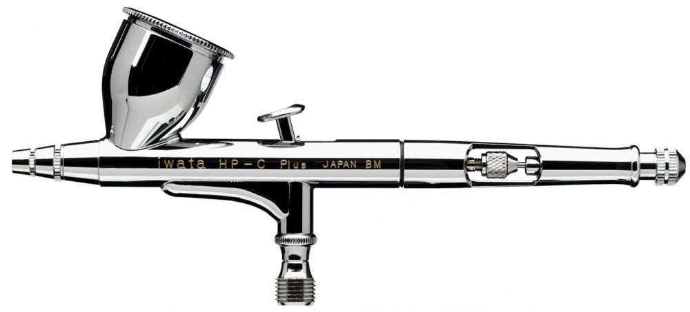 IWATA High Performance HP-C Plus Gravity Feed Dual Action Airbrush