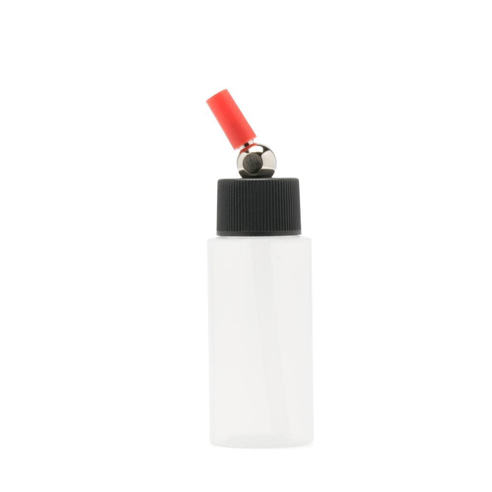 IWATA High Strength Translucent Bottle 1 oz / 30 ml Cylinder With Adaptor Cap