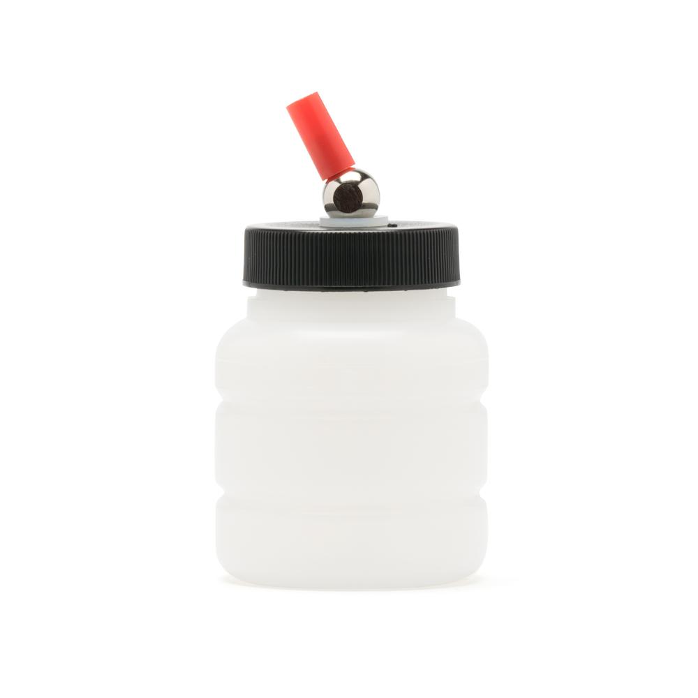 IWATA High Strength Translucent Bottle 2 oz / 60 ml Jar With Adaptor Cap
