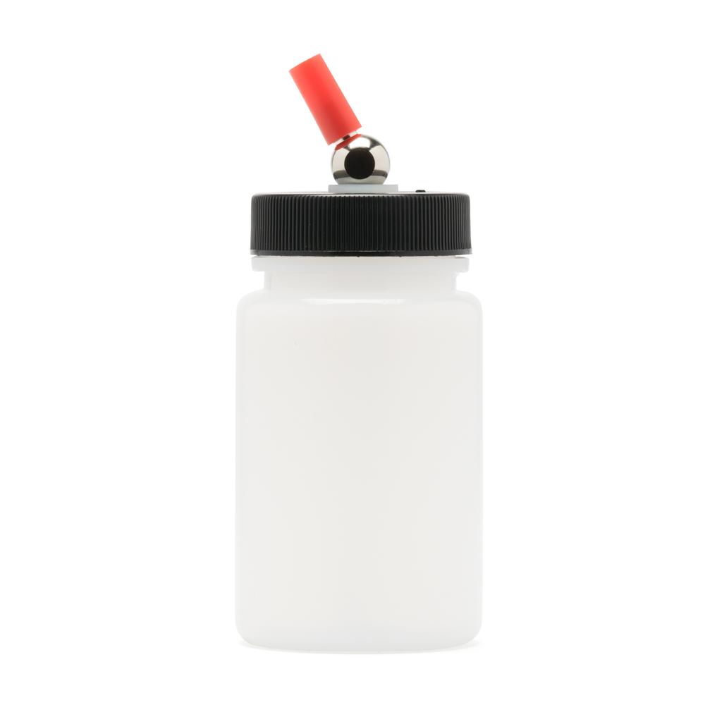 IWATA High Strength Translucent Bottle 3 oz / 84 ml Jar With Adaptor Cap