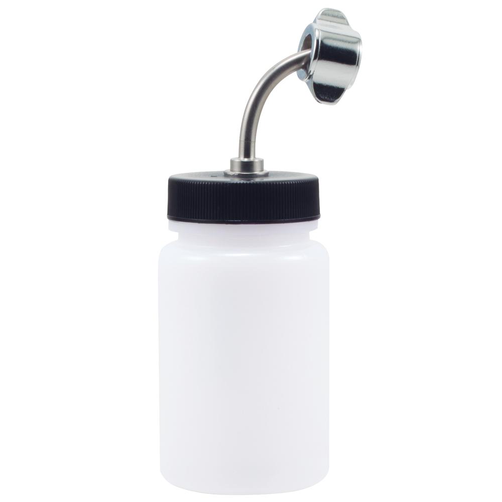 IWATA High Strength Translucent Bottle 3 oz / 84 ml Jar With G6 Adaptor Cap