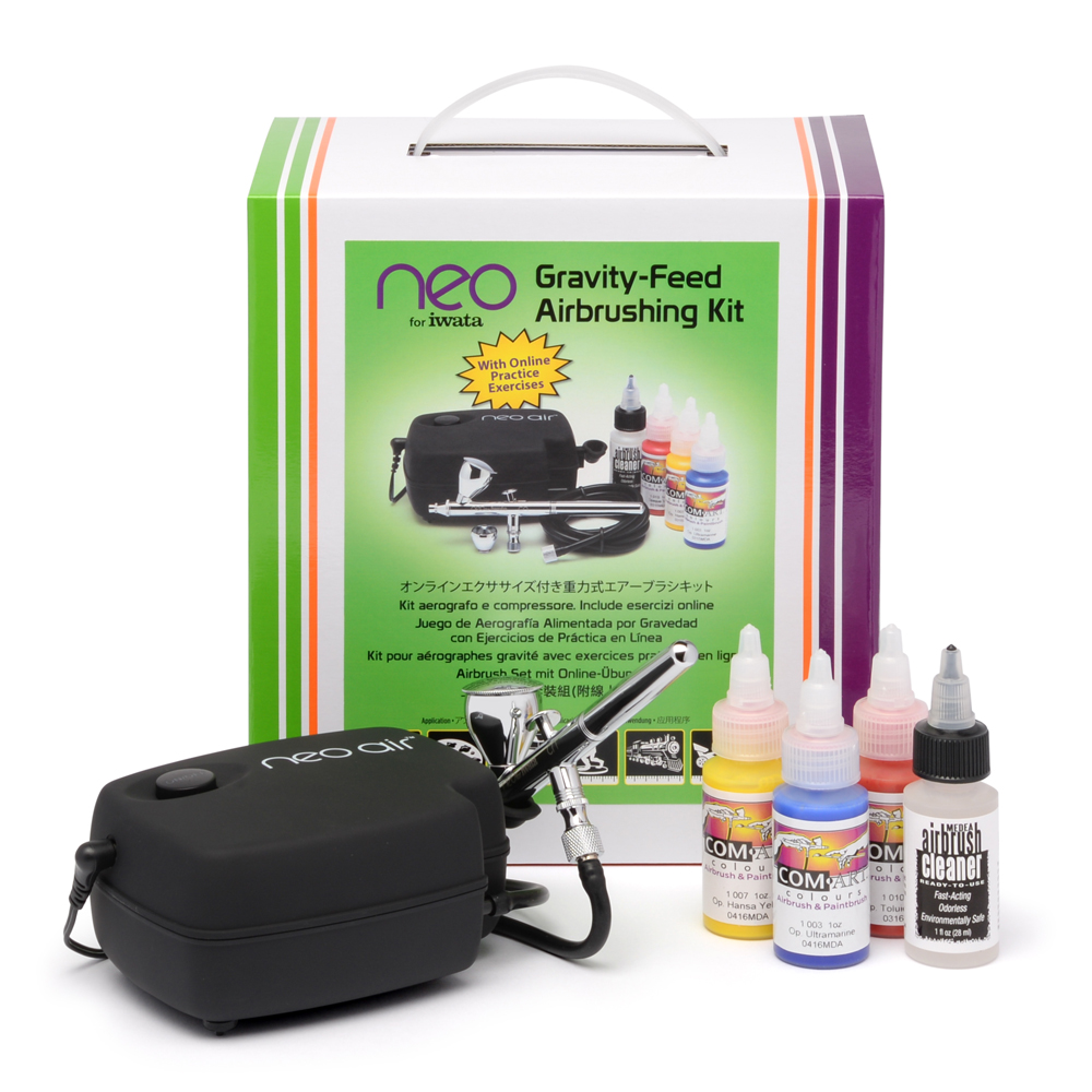IWATA NEO for Iwata Gravity Feed Airbrushing Kit with NEO CN