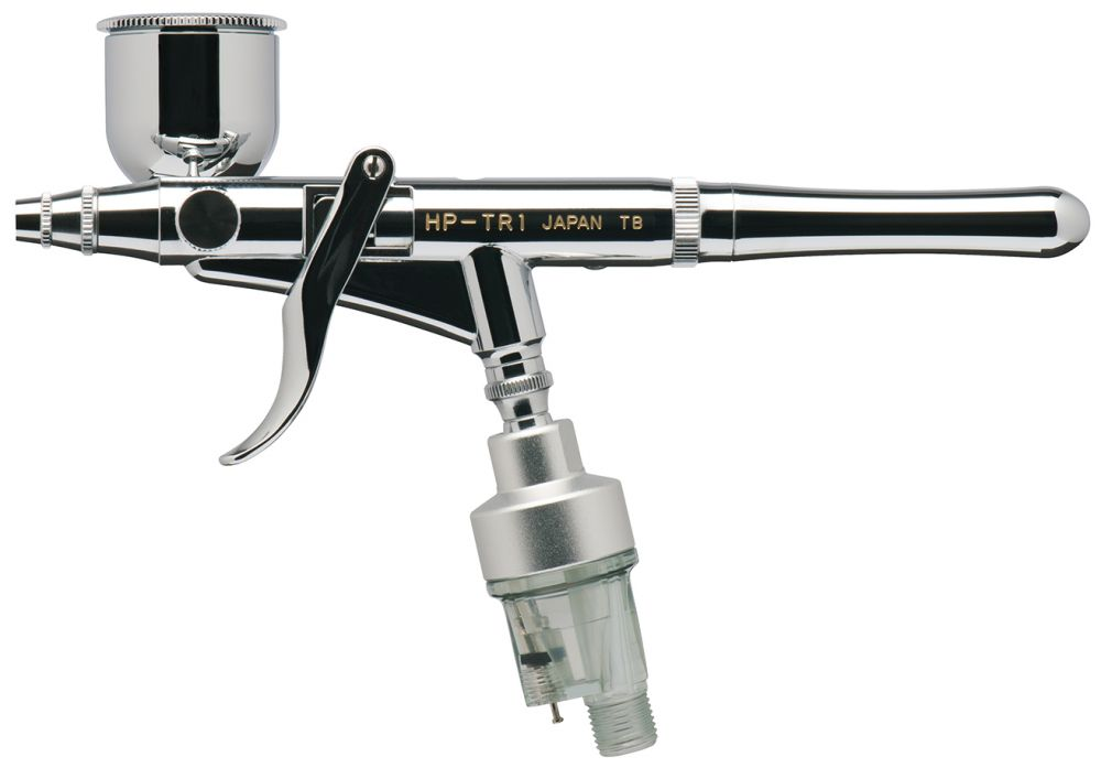 IWATA Revolution HP-TR1 Side Feed Dual Action Trigger Airbrush