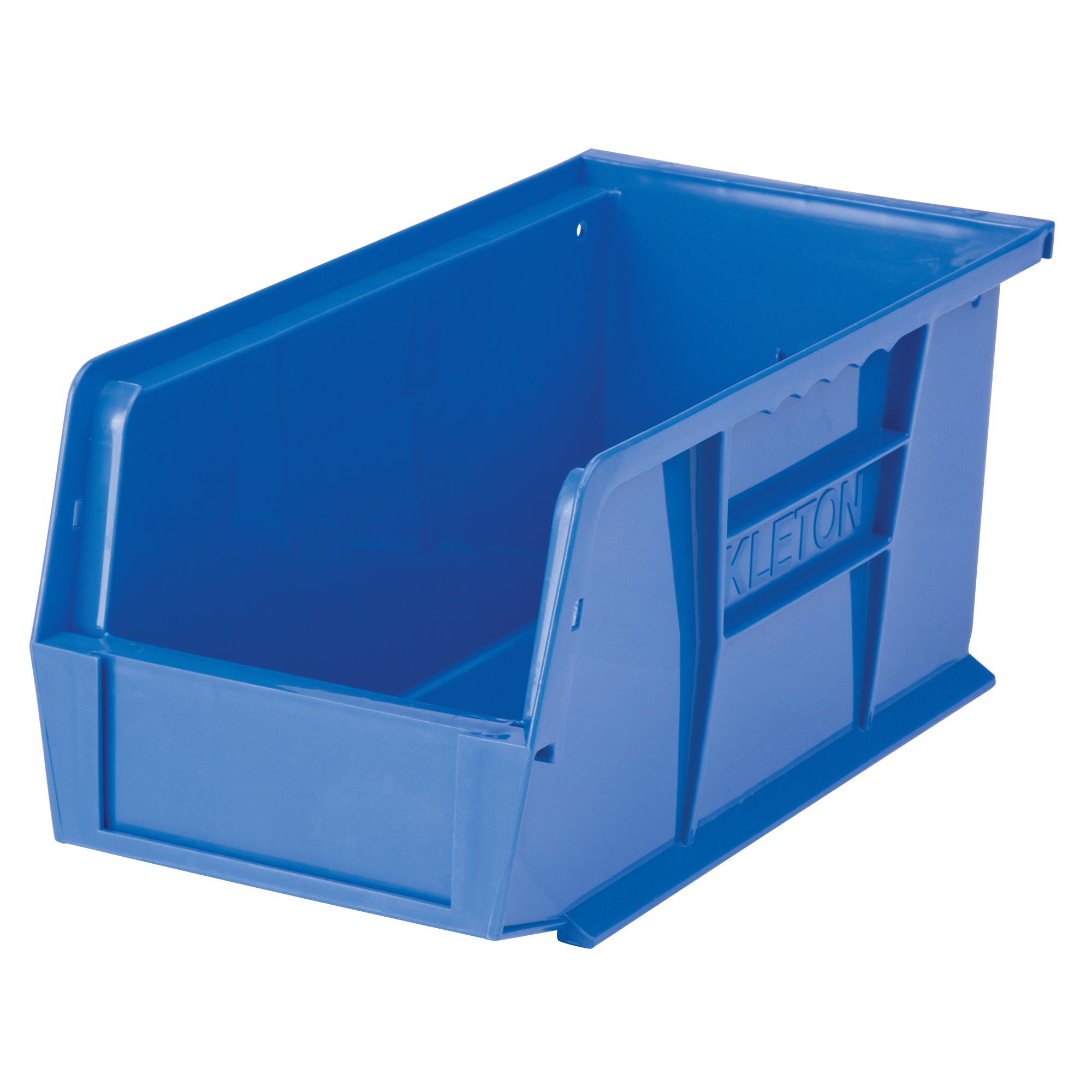 """Kleton Stack & Hang Bin, 5-1/2"""" W x 5"""" H x 10-7/8"""" D, Blue"""
