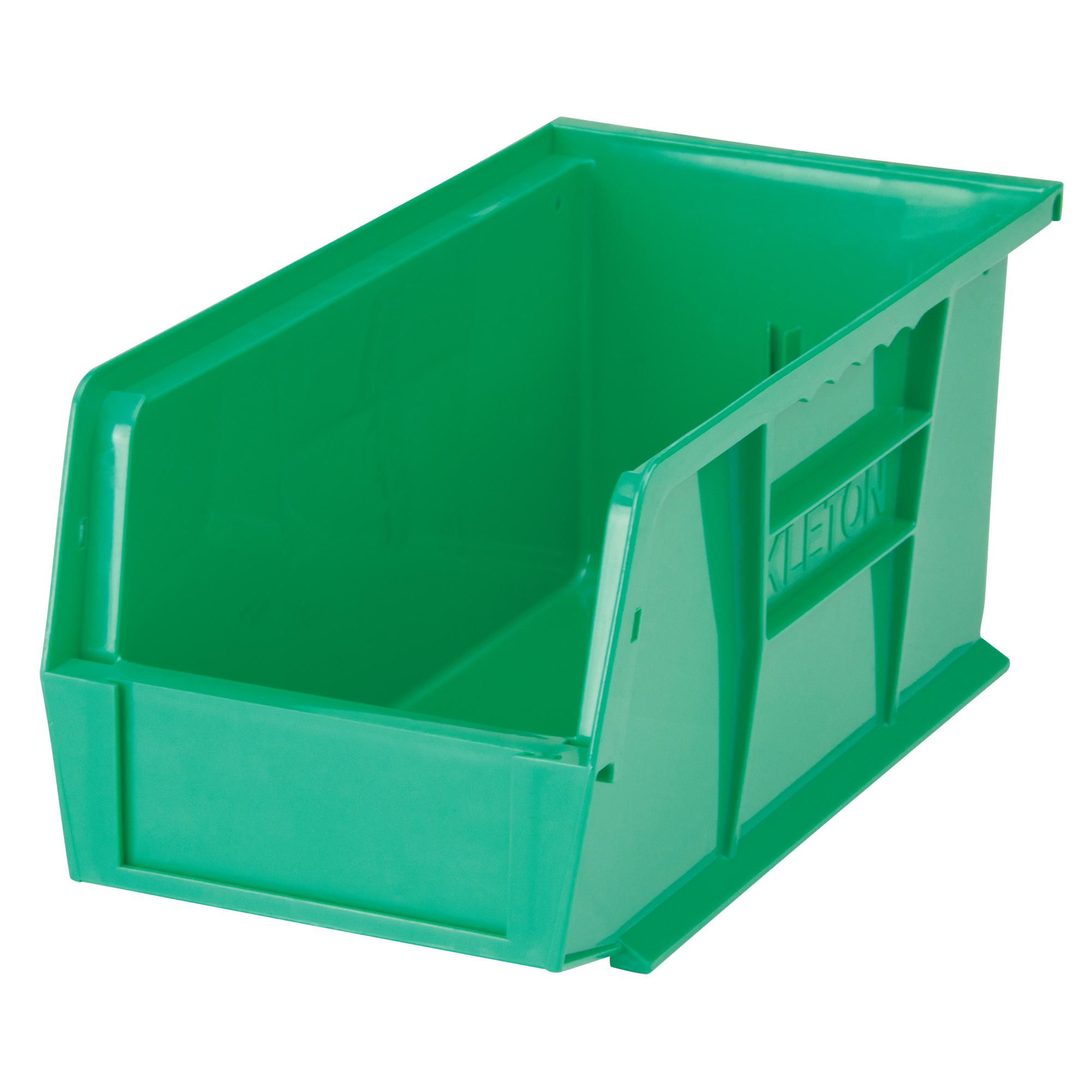 """Kleton Stack & Hang Bin, 5-1/2"""" W x 5"""" H x 10-7/8"""" D, Green"""