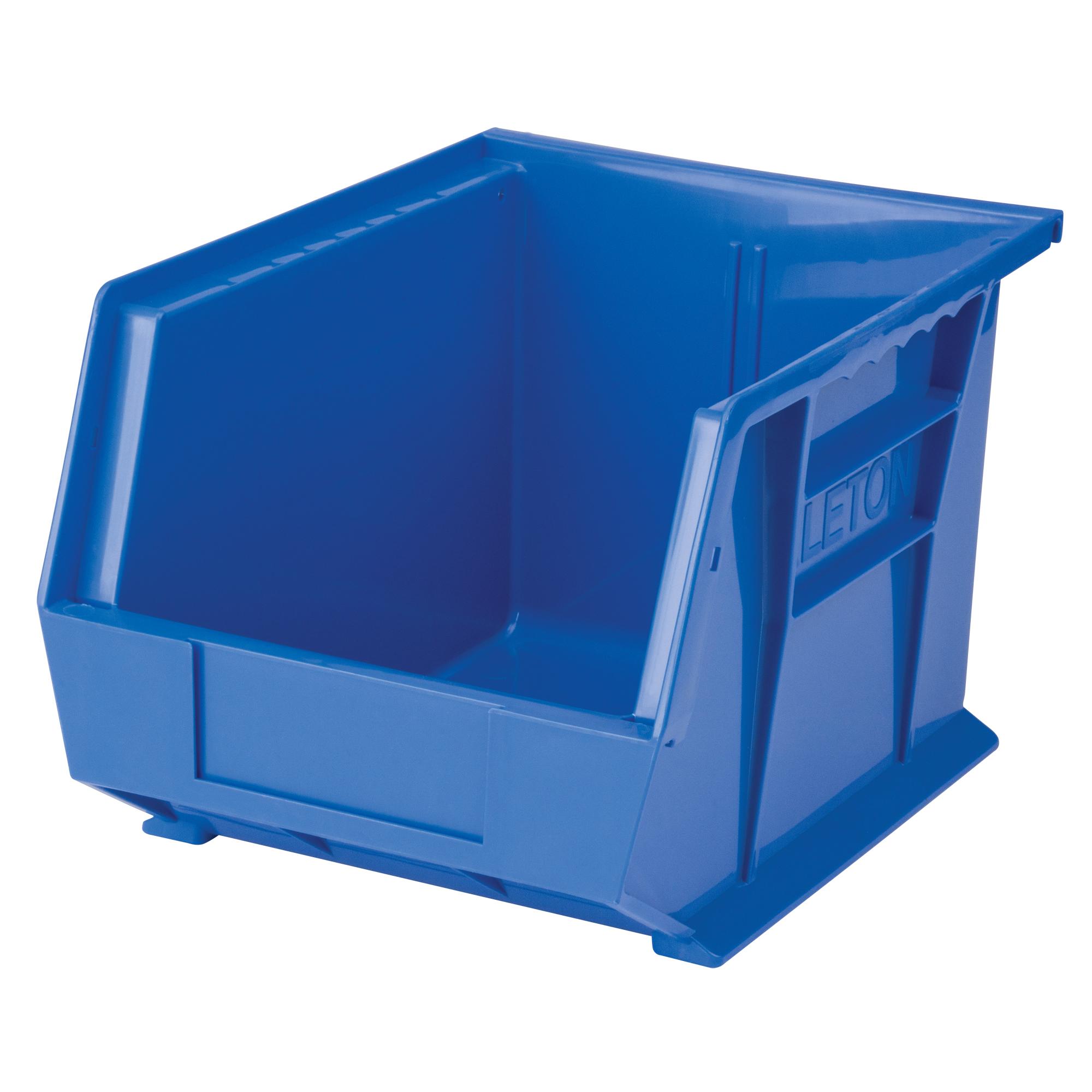 """Kleton Stack & Hang Bin, 8-1/4"""" W x 7"""" H x 10-3/4"""" D, Blue"""