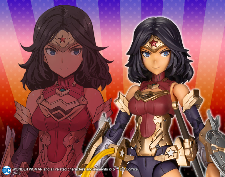 Kotobukiya Wonder Woman Humikane Shimada Ver, Action Figure Kit (7.09 Inches)