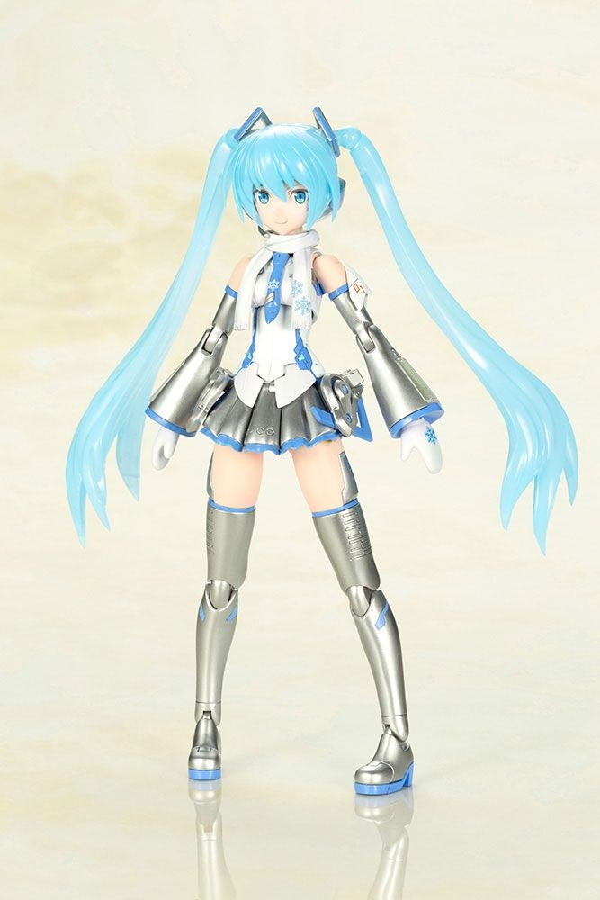 Kotobukiya Frame Music Girl Snow Miku  Figure Kit, Non Scale