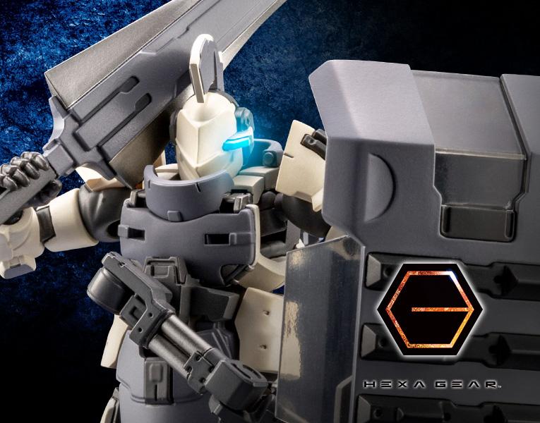 Kotobukiya 1/24 Hexa Gear Governor EX Armor Type: Knight (Bianco)