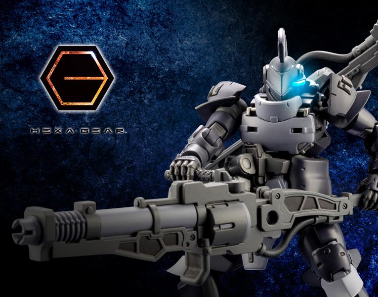 Kotobukiya 1/24 Hexa Gear Governor EX Armor Knight (Nero)