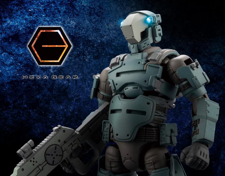 Kotobukiya 1/24 Hexa Gear Governor Warmage Cerberus
