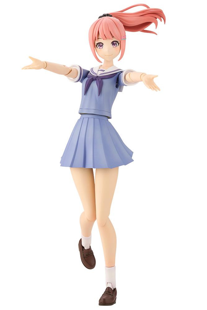 Kotobukiya 1/10 Madoka Yuki (Touou High School Summer Clothes) Dreaming Style Milky Marine, Sousai Shojo Teien Series Figure Kit