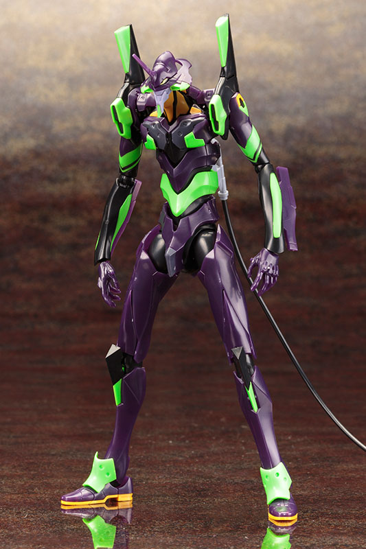 Kotobukiya 1/400 Evangelion Test Type-01 Night Combat Ver. Action Figure Kit