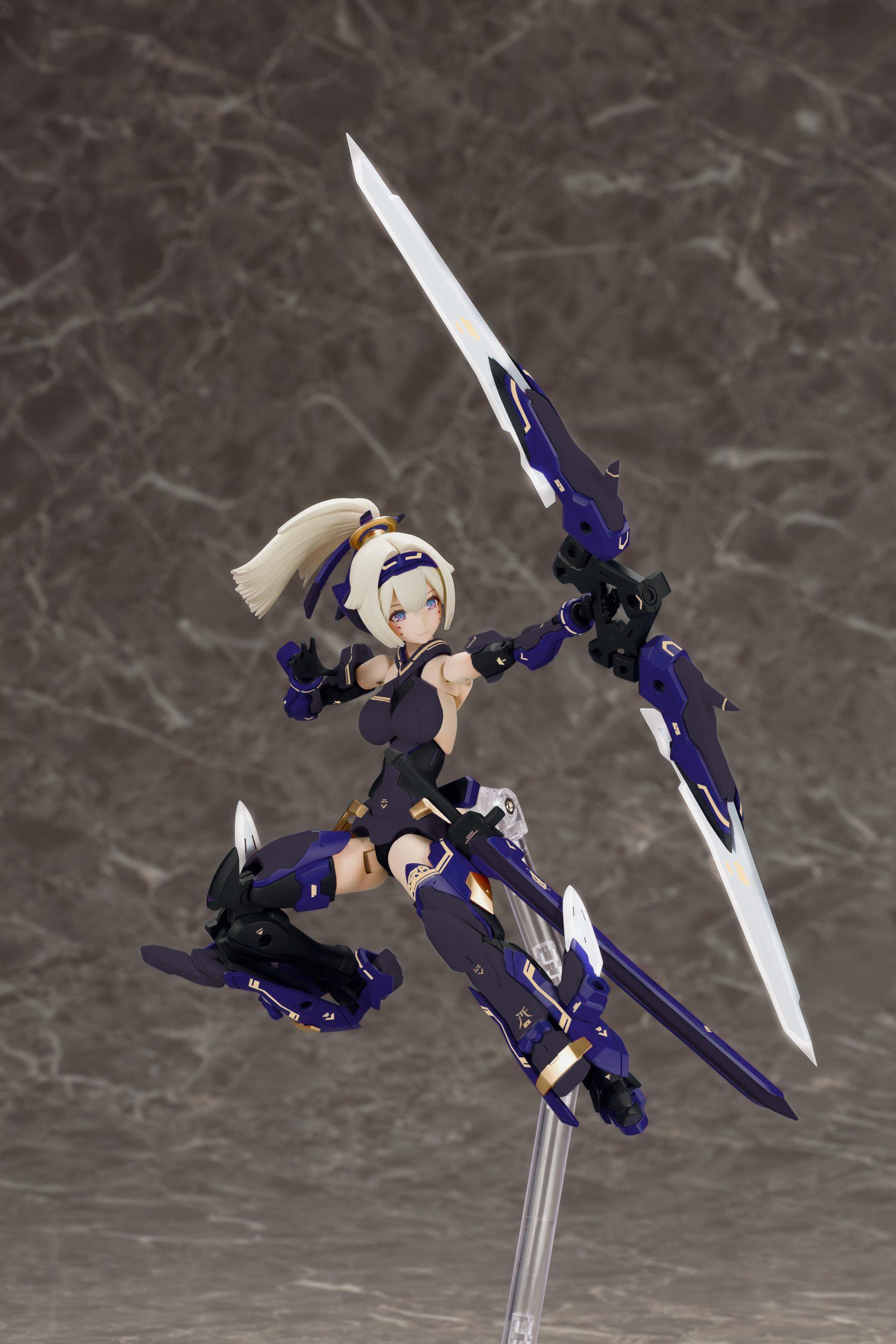 Kotobukiya 1/1 Asra Archer Shadow Edition, Action Figure Kit