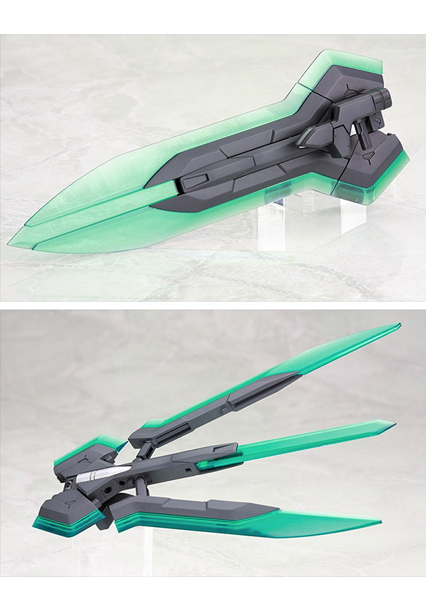 Kotobukiya Heavy Weapon Unit 05 Mega Slash Edge, 2 Pack