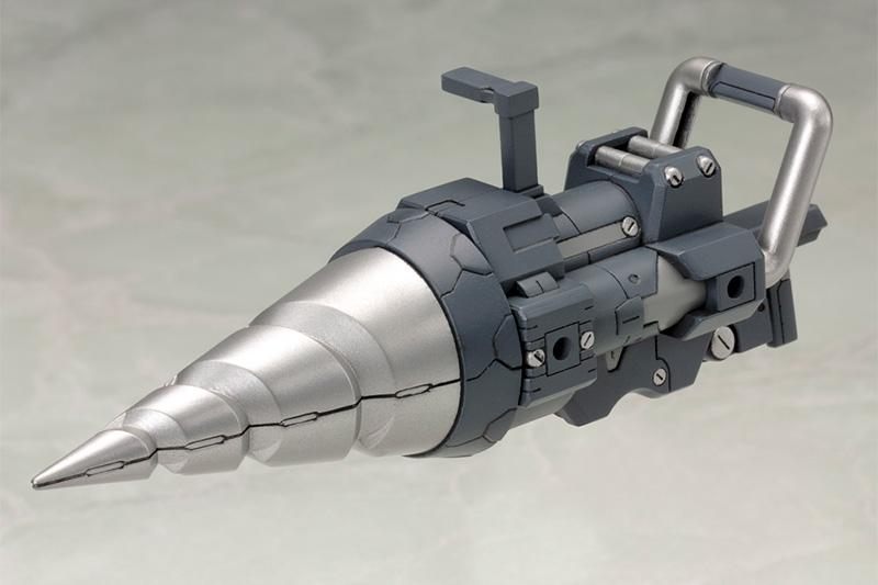 Kotobukiya MSG Heavy Weapon Unit 09 Vortex Driver, 2 Pack