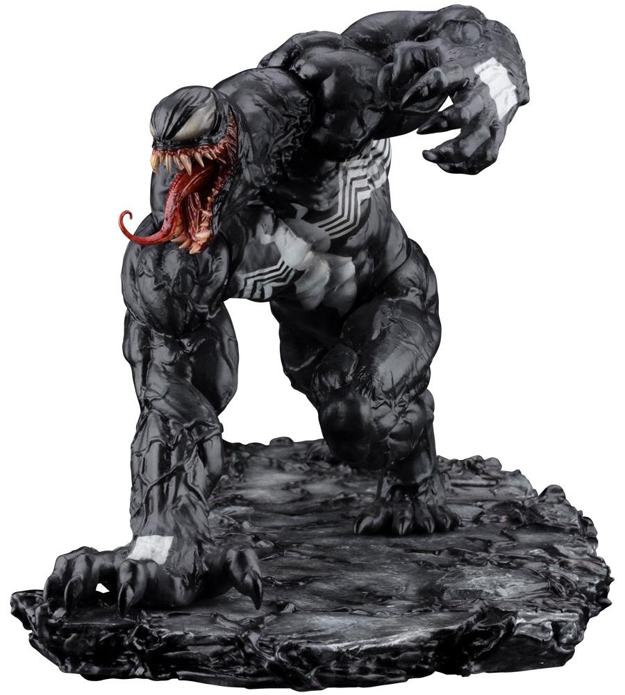 Kotobukiya 1/10 Marvel Universe Series Venom Renewal Edition ARTFX+, Pre-painted PVC Statue