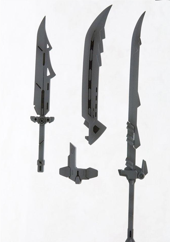 Kotobukiya MSG Weapon Unit 04 Samurai Sword 2, 2 Pack