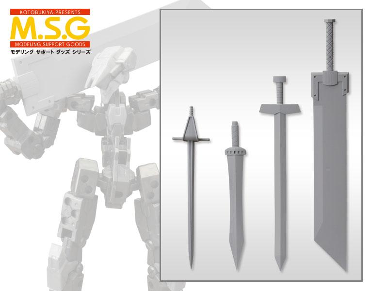 Kotobukiya M.S.G Weapon Unit 33 Knight Sword