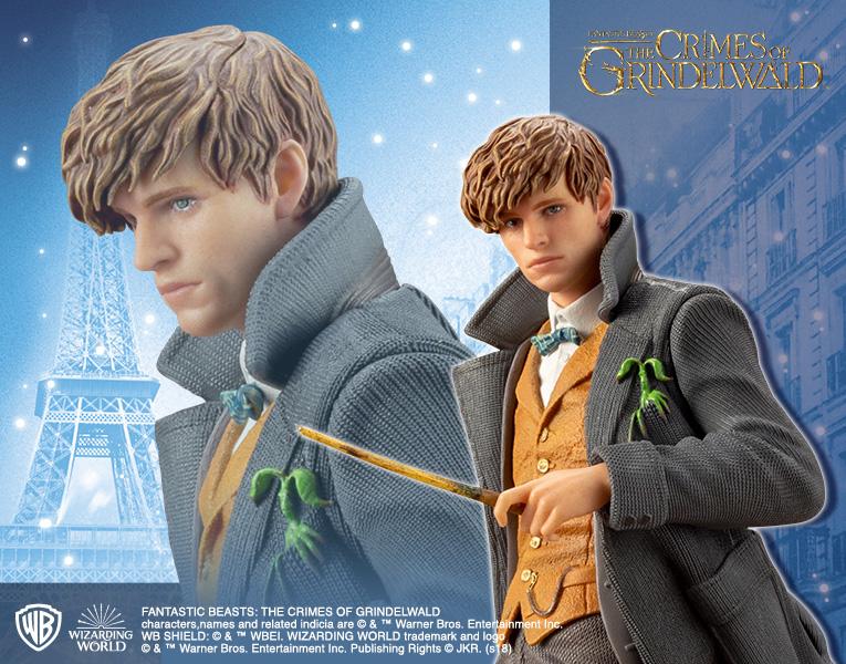 Kotobukiya 1/10 ARTFX+ Fantastic Beasts: The Crimes of Grindelwald: Newt Scamander
