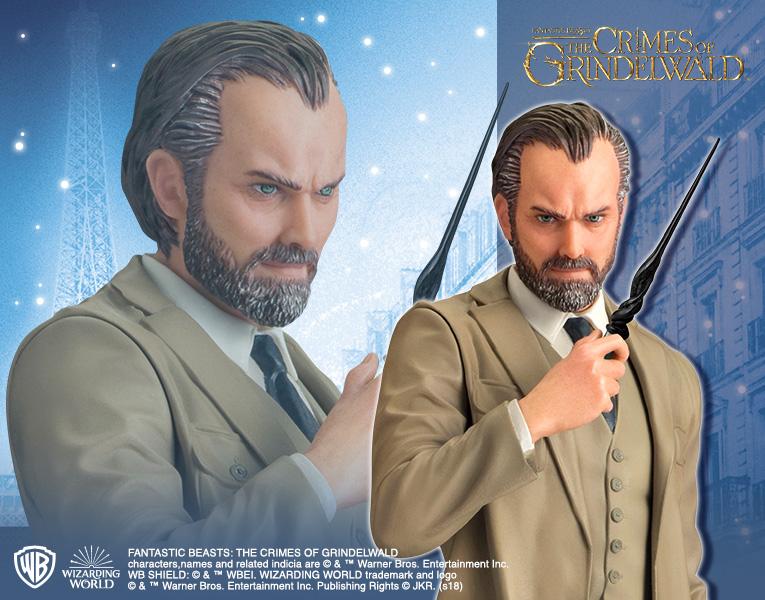 Kotobukiya 1/10 ARTFX+ Fantastic Beasts: The Crimes of Grindelwald: Albus Dumbledore